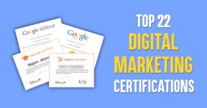 Best 22 Digital Marketing Certifications