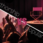 Authorship v/s Popularity